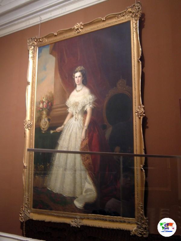Il ritratto dell'Imperatrice Sissi
