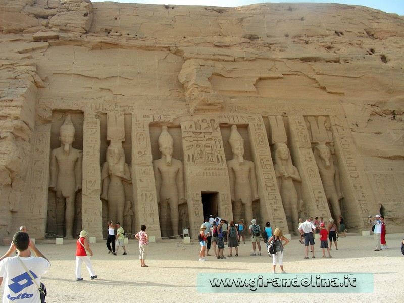 AbuSimbel Tempio Minore Egitto