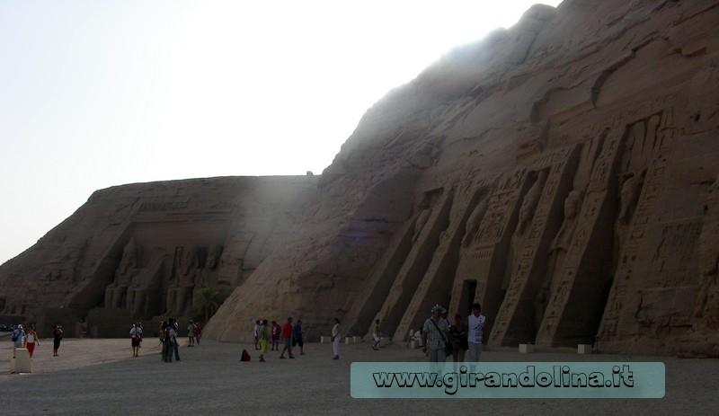 AbuSimbel panoramica Egitto