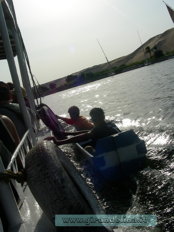 Bimbi Nilo Egitto