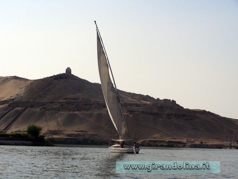 Feluche Nilo Egitto