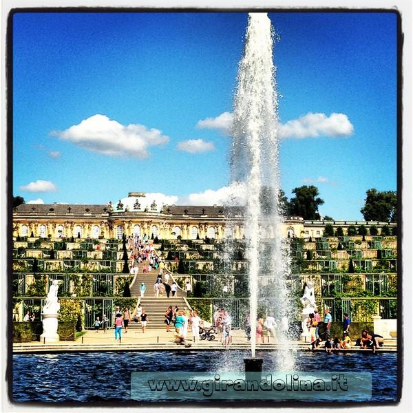 Il Parco del Castelllo do Sanssouci