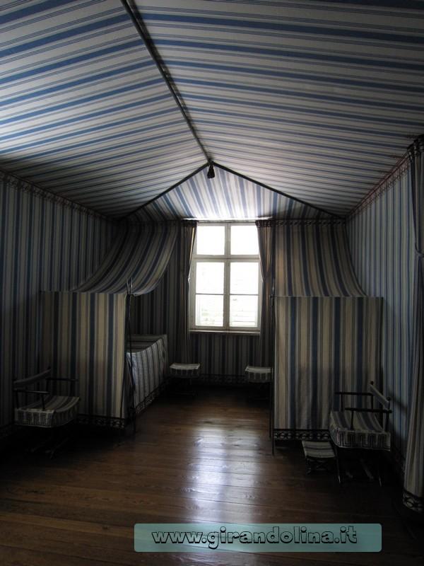La Stanza Tenda del Schloss Charlottenhof