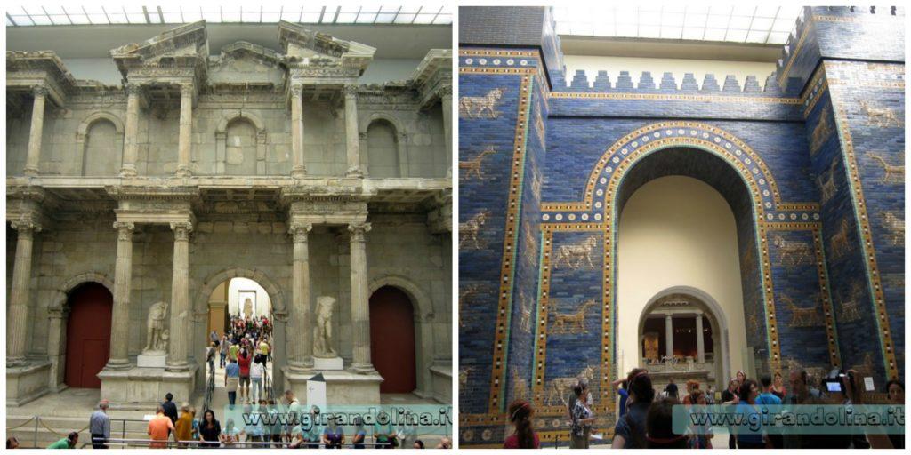 La Porta di Mileto, e la Porta Ishtar