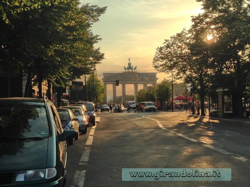 Porta-di Brandeburgo-tramonto