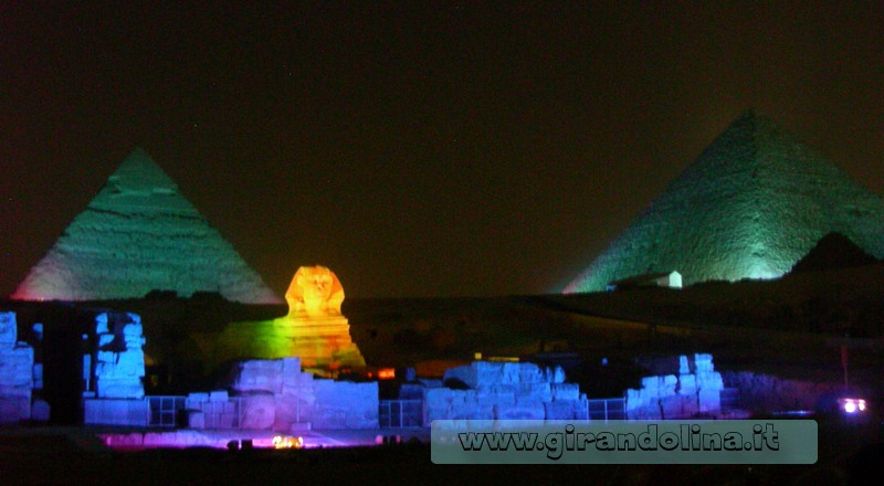 Spettacolo Suoni Luci Piramidi Egitto