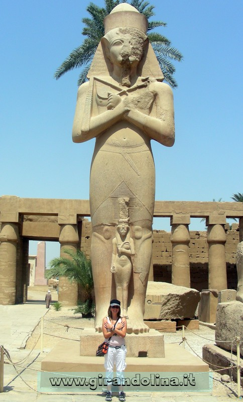 Tempio Karnak RamsesII Egitto
