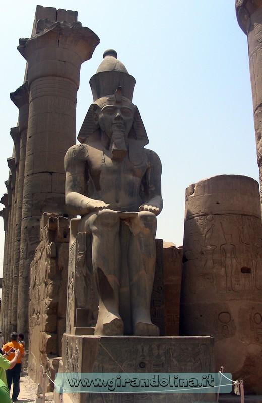 Tempio Luxor RamsesII Egitto