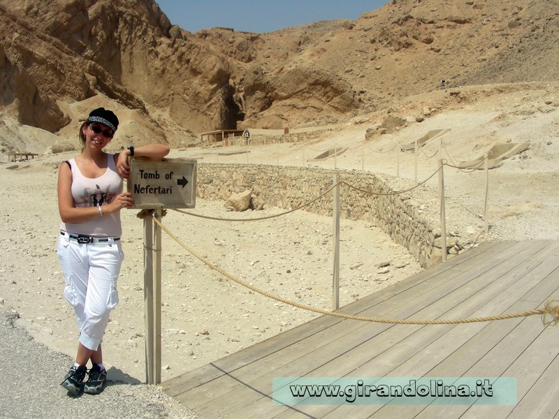 Tomba Nefertari Egitto
