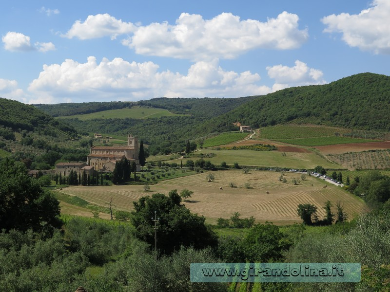 Val d'Orcia - Abbazia Sant'Antimo