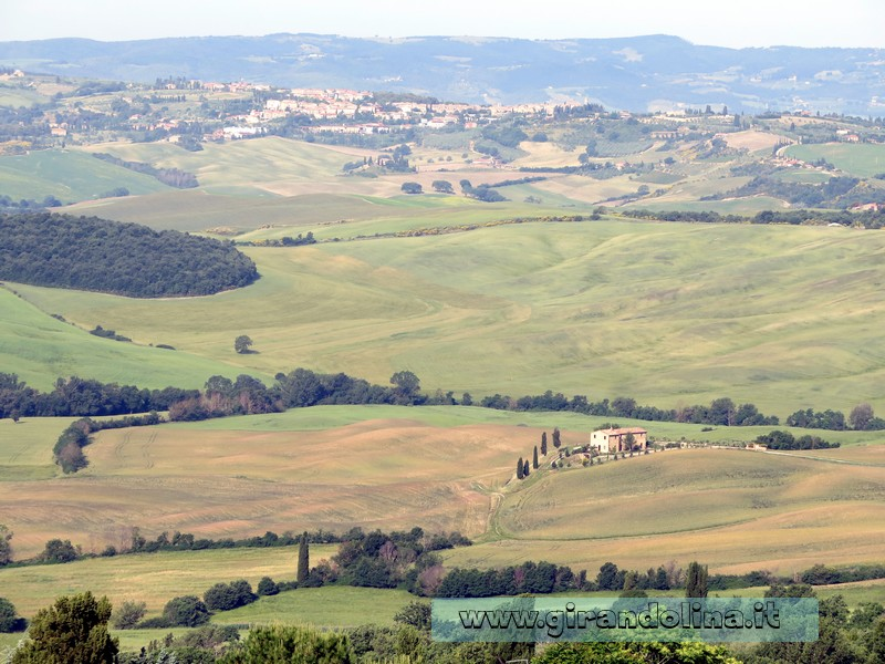 Val d'Orcia - Pienza Panorama