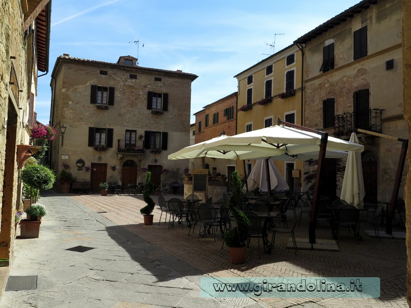 Val d'Orcia - Pienza Piazzetta