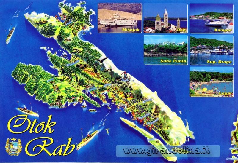 Isola di Rab Croazia