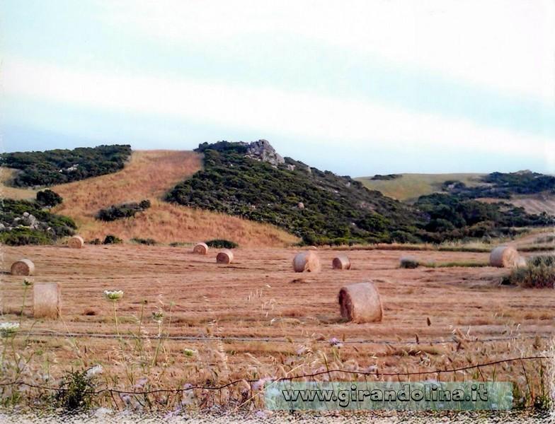 Sardegna il panorama della terra sarda