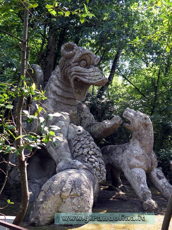 Giardini di Bomarzo-Drago