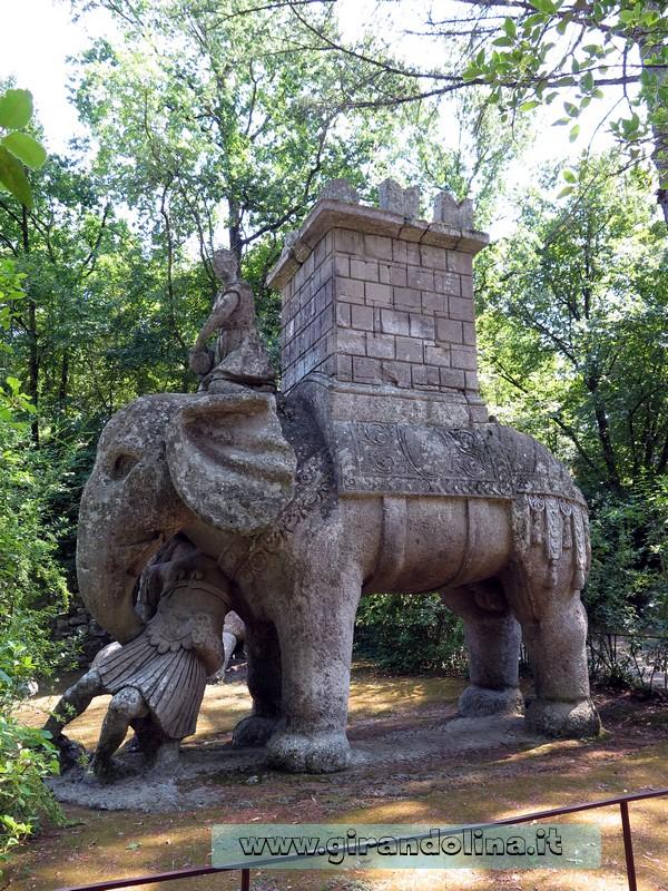 Giardini di Bomarzo Elefante