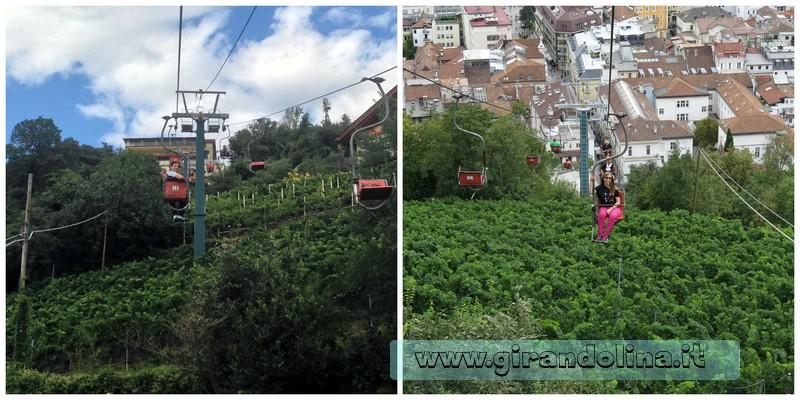 La seggiovia Merano-Tirolo