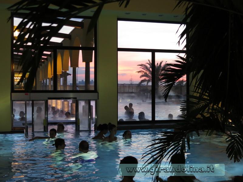 Asmana Wellness World Firenze, il tramonto