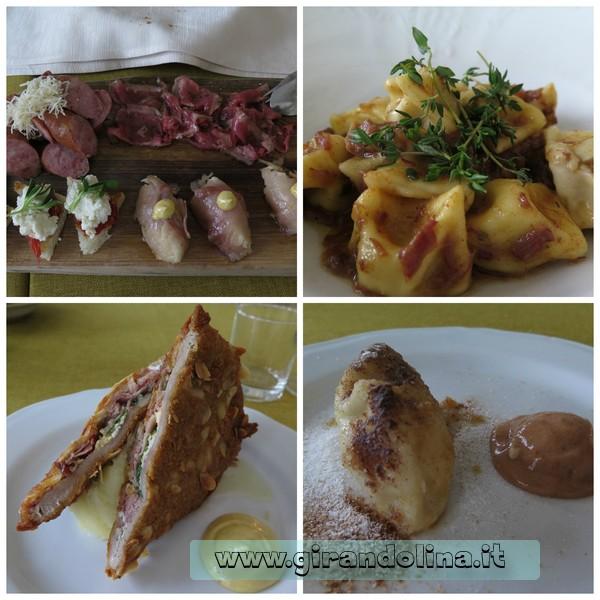 Il menù del nostro pranzo al ristorante Gostilna Na Gradu