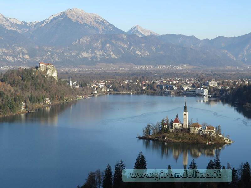 Il panorama dalla collina Velika OsoJnica