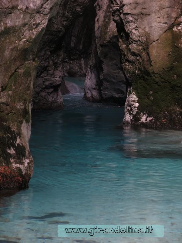 La gola del Kamniška Bistrica