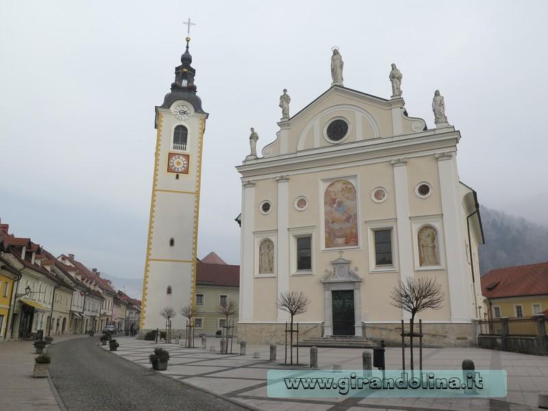 La Chiesa di San Giacomo Maggiore a Kamnik
