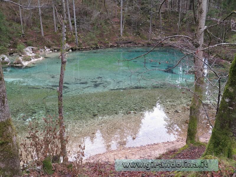Il laghetto di Kamniška Bistrica