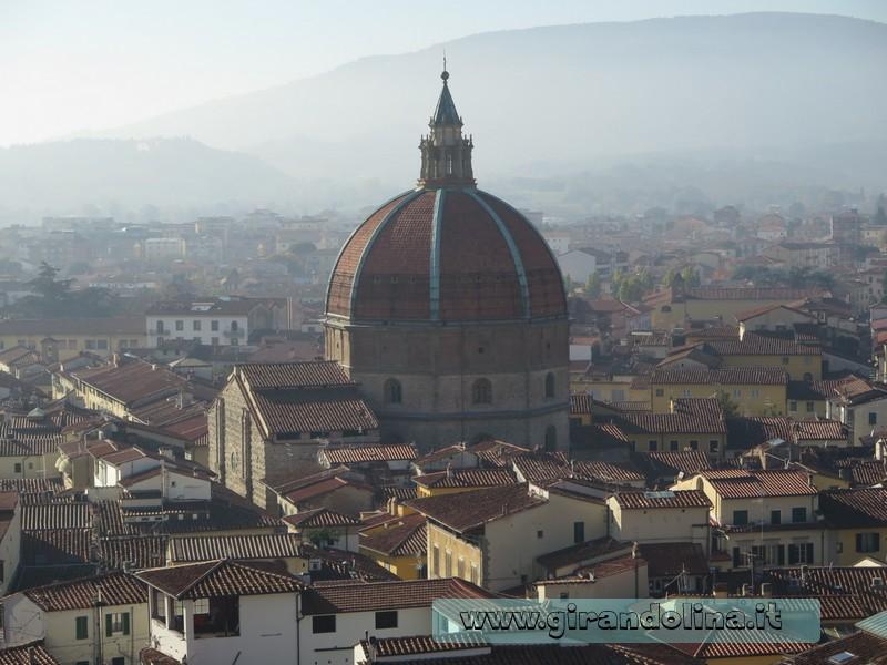Panorama della città di Pistoia dal Campanile