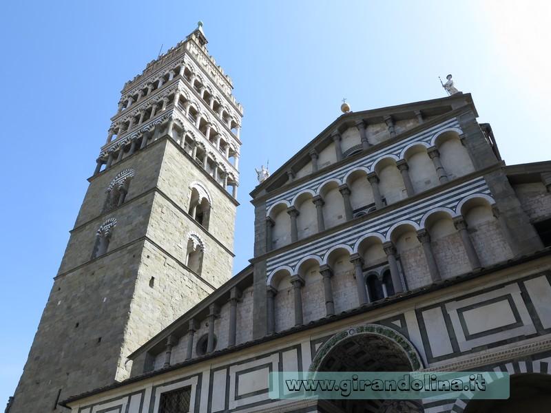 Cattedrale di San Zeno e il Campanile di Pistoia