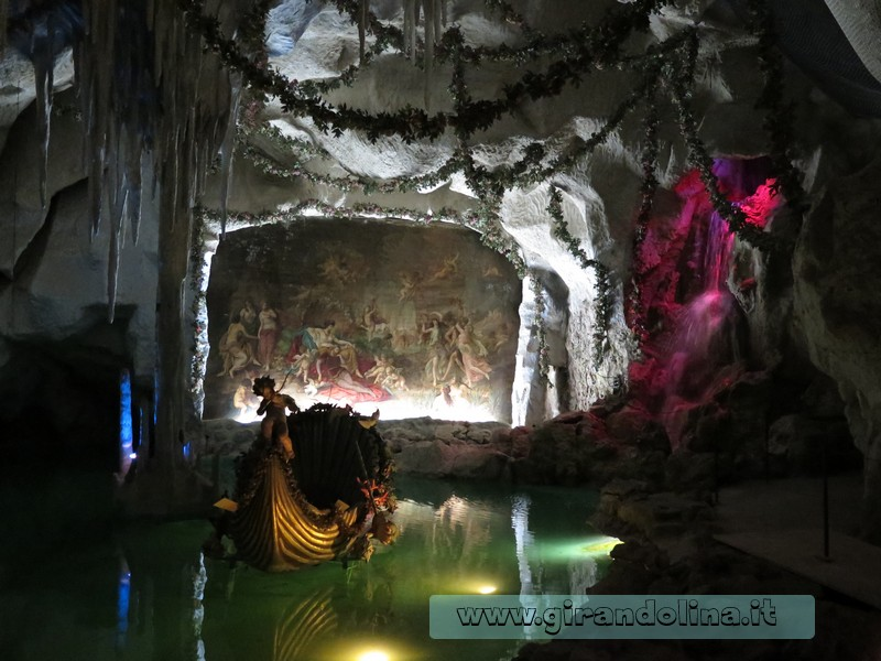 Castello di Linderhof, la Grotta di Venere