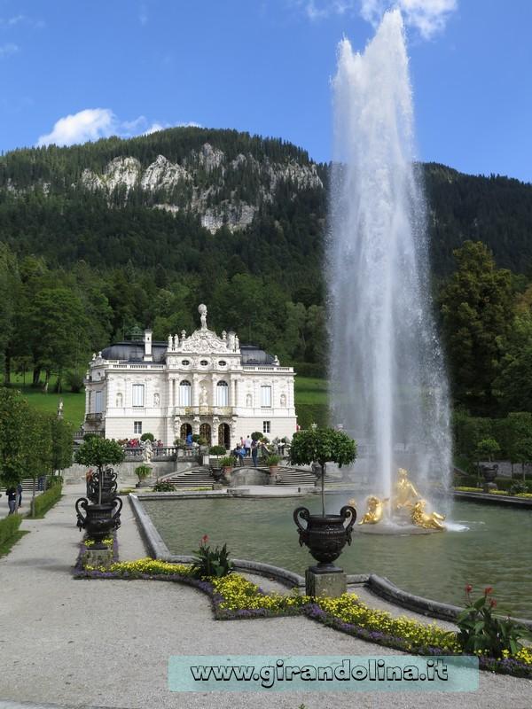 Castello di Linderhof, il parco