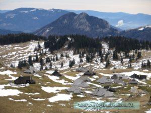 Velika Planina l' insediamento