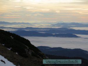 Il panorama dal Velika Planina
