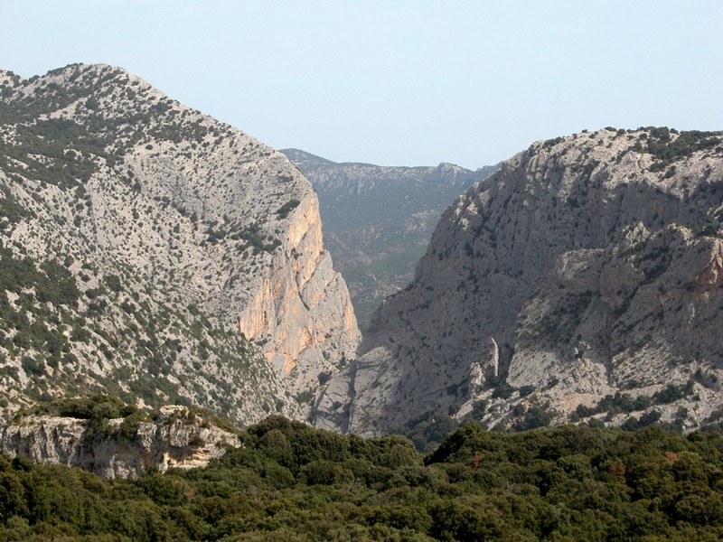 Sardegna l'Ogliastra vista-di-gorroppu