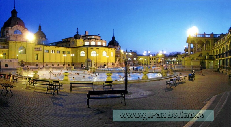 Attrazioni turistiche -I Bagni Szechenyl a Budapest