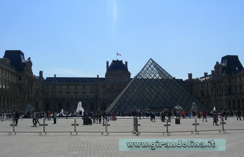 Attrazioni turistiche -Museo Louvre Parigi
