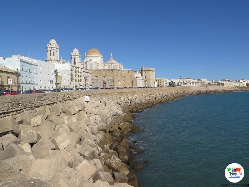 Il paseo marítimo di Cadice