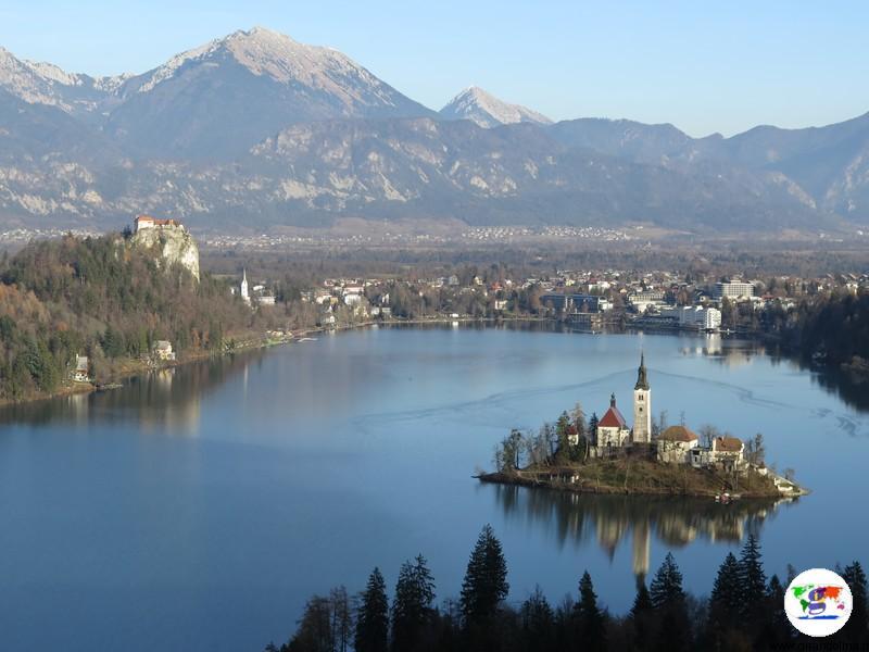 Vacanze autunno dove andare - Lago di Bled -Slovenia