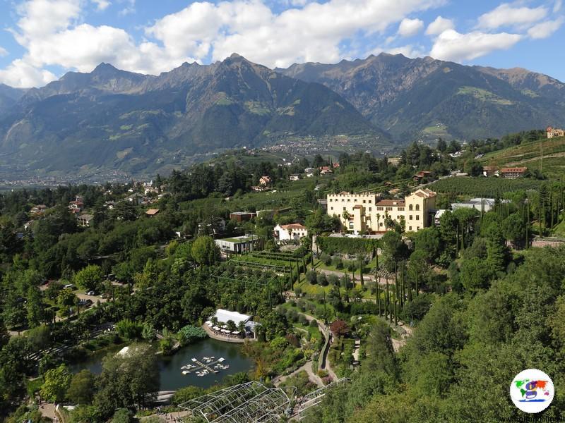I giardini più belli d'Italia, i Giardini di Sissi, Merano