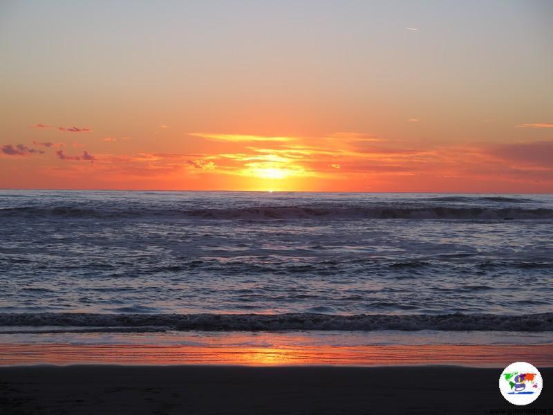 I 10 migliori paesaggi toscani- il tramonto in Versilia