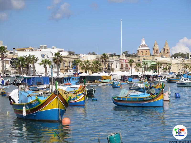 Vacanze autunno dove andare - Malta -Marsaxlokk