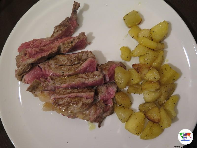 Monferrato dove mangiare, l'Antica Drogheria da Corino,Sottofiletto di black Angus con verdure