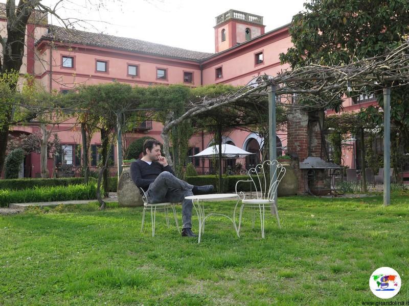 Monferrato dove dormire- il giardino all'italiana del Relais i Castagnoni