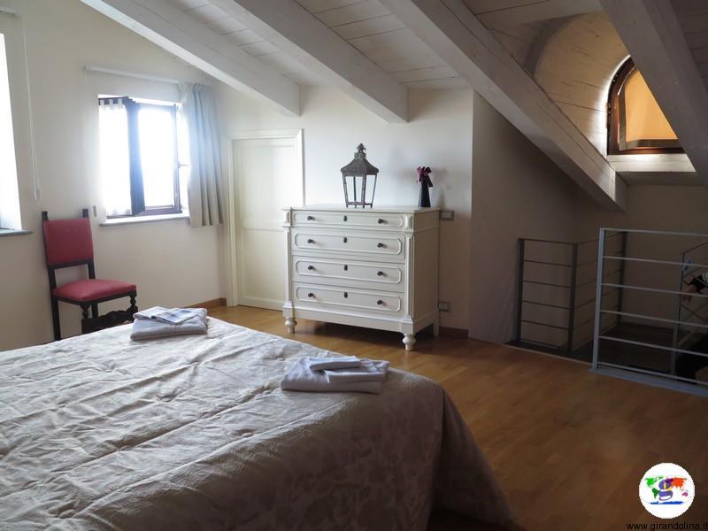 Monferrato dove dormire- la nostra camera del Palazzo Paleologi