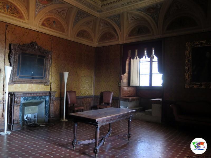 Villa Medicea di Poggio a Caiano , camera di Bianca Cappello