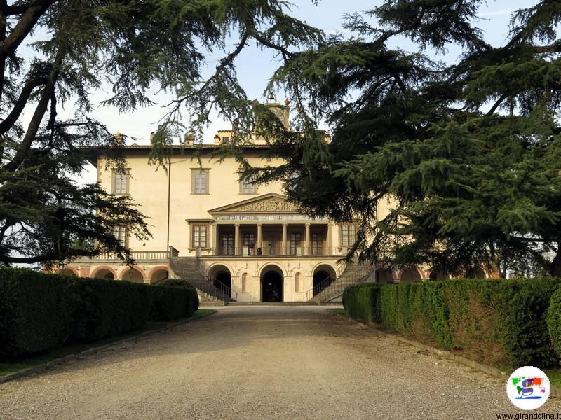 Villa Medicea di Poggio a Caiano , il parco