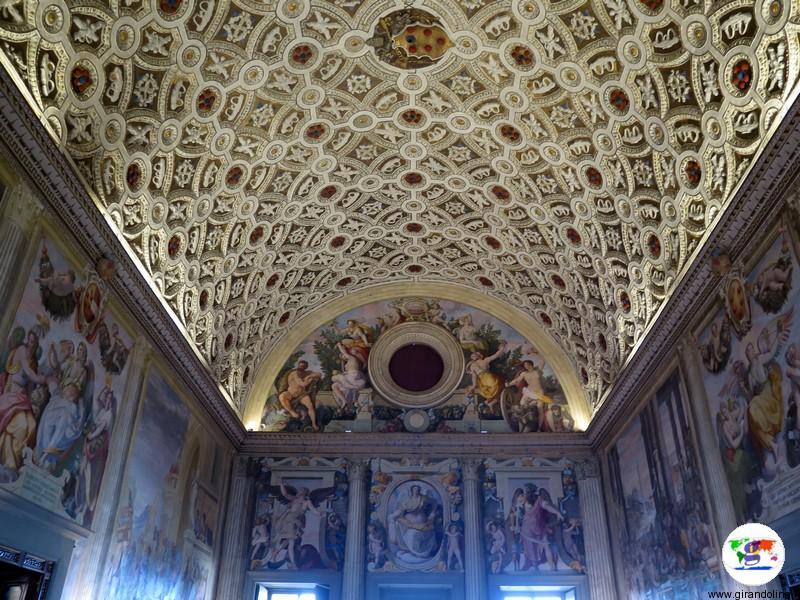 Villa Medicea di Poggio a Caiano , Salone Leone X