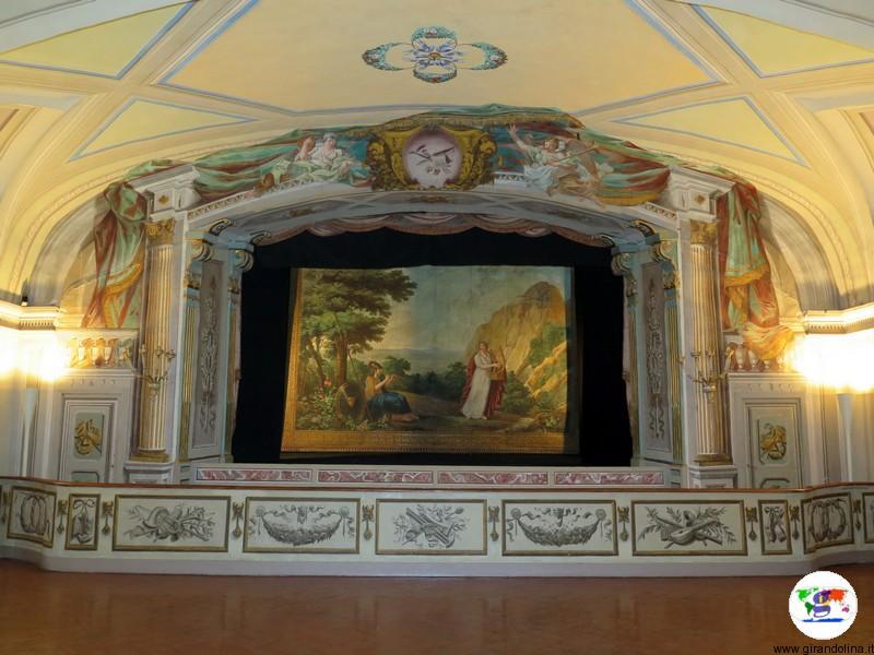 Villa Medicea di Poggio a Caiano , il teatro