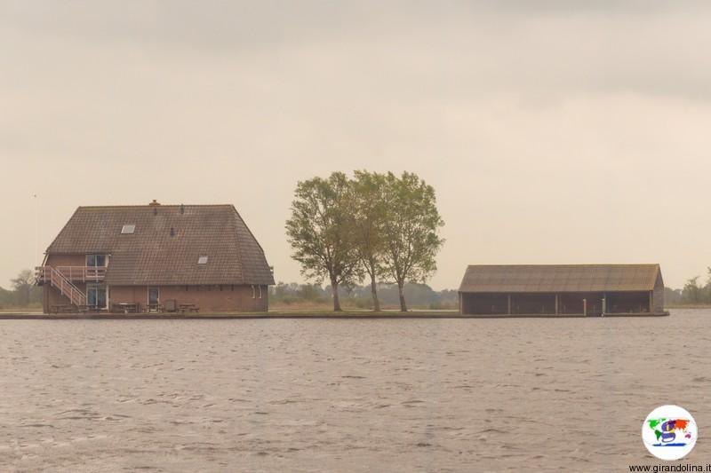 Giethoorn e le case-isola