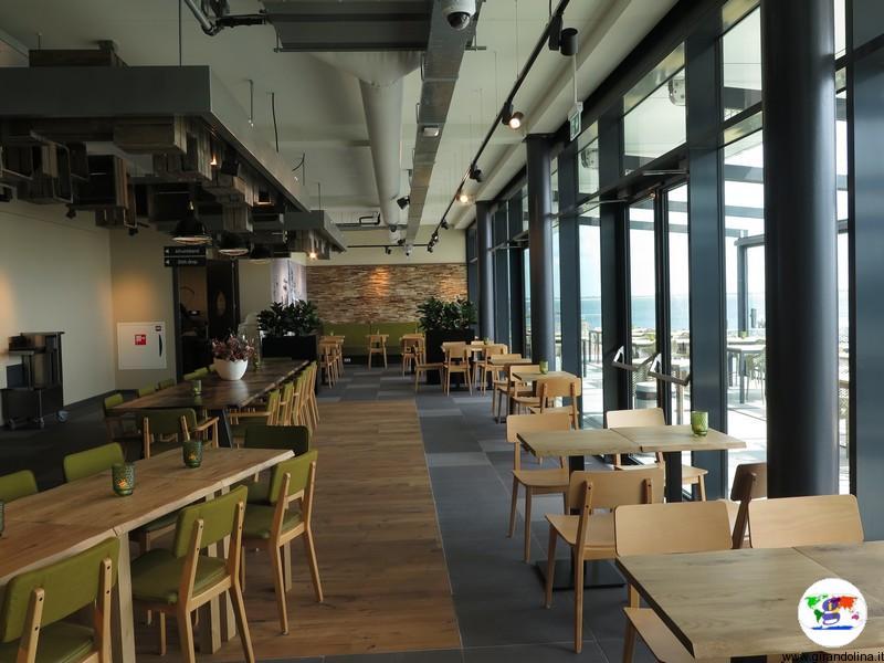 Afsluitdijk Wadden Center,il ristorante
